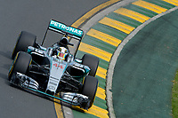 HAMILTON lewis (gbr) mercedes gp mgp w06 action during 2015 Formula 1 championship at Melbourne, Australia Grand Prix, from March 13th to 15th. Photo DPPI / Eric Vargiolu.