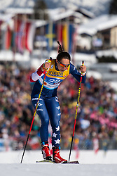 February 21, 2019 - Seefeld In Tirol, AUSTRIA - 190221 Julia Kern of USA competes in women's cross-country skiing sprint qualification during the FIS Nordic World Ski Championships on February 21, 2019 in Seefeld in Tirol..Photo: Joel Marklund / BILDBYRN / kod JM / 87879 (Credit Image: © Joel Marklund/Bildbyran via ZUMA Press)