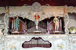 Gavioli fairground organ at Nottingham Riverside.
