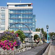 16.08.2016    <br /> Limerick City and County Council, Flowers, Sarsfield Bridge, Limerick City. Picture: Alan Place