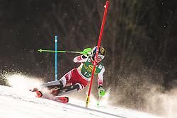 Katharina Gallhuber (AUT) during the Ladies' Slalom at 56th Golden Fox event at Audi FIS Ski World Cup 2019/20, on February 16, 2020 in Podkoren, Kranjska Gora, Slovenia. Photo by Matic Ritonja / Sportida