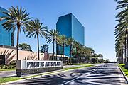 Pacific Arts Plaza Signage Costa Mesa