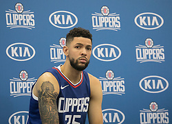 September 25, 2017 - Los Angeles, California, U.S - Austin Rivers #25 of the L.A. Clippers during Media Day on Monday September 25, 2017 at the L.A. Clippers training facility in Los Angeles, California. (Credit Image: © Prensa Internacional via ZUMA Wire)