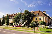 Węgorzewo, 2007-08-07. Zamek krzyżacki z końca XIV wieku
