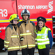 20.03.15<br /> A group of students from the senior cycle programme at Ennis Community College have got an insight into the diversity of employment opportunities that await them as part of a volunteer programme with Shannon Group plc to encourage school completion. <br /> Through a partnership between Shannon Group and the Business in the Community Ireland (BITCI) programme, 22 students from the Ennis school got to experience a variety of job profiles in the Group through a series of engagements with the company. <br /> During the eight week BITCI 'Skills @ Work' programme, the students got to hear about the structure of Shannon Group, who they are and what they do and their value to the local economy.  They got to meet staff at the airport including the operations management, fire staff, security staff and customs staff. Picture: Alan Place.