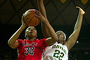 WACO, TX - DECEMBER 18: Tia Faleru #32 of the Mississippi Lady Rebels drives to the basket against the Baylor Bears on December 18 at the Ferrell Center in Waco, Texas.  (Photo by Cooper Neill) *** Local Caption *** Tia Faleru