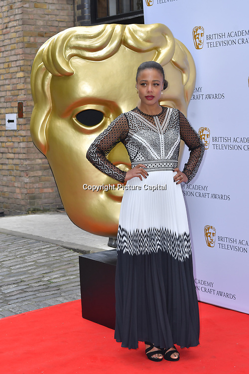 Nina Toussaint-White Arrivers at the British Academy Television Craft Awards on 28 April 2019, London, UK.