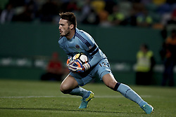 October 22, 2017 - Lisbon, Portugal - Chaves's goalkeeper Ricardo in action  during Primeira Liga 2017/18 match between Sporting CP vs GD Chaves, in Lisbon, on October 22, 2017. (Credit Image: © Carlos Palma/NurPhoto via ZUMA Press)