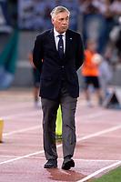 Carlo Ancelotti, Napoli coach.<br /> Roma 18-08-2018 Stadio Olimpico Football Calcio Serie A 2018/2019 Lazio - Napoli Foto Antonietta Baldassarre / Insidefoto