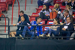 Philippaerts Nicola, (BEL), Verlooy Jos, (BEL)<br /> Longines FEI World Cup™ Jumping Final I<br /> Las Vegas 2015<br />  © Hippo Foto - Dirk Caremans<br /> 17/04/15