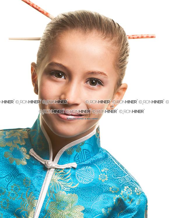 Shira Zeiberg<br /> Kings Highway School Chorus 2014 Production Headshot