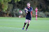 Alex Cuthbert of Wales in action. Wales rugby team training at the Vale Resort, Hensol, Vale of Glamorgan, in South Wales on Thursday 3rd November 2016, the team are preparing for their match against Australia this weekend. pic by Andrew Orchard, Andrew Orchard sports photography