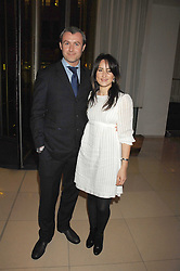 Singer KT TUNSTALL and her brother JO TUNSTALL at 'Not Another Burns Night' in association with CLIC Sargebt and Children's Hospice Association Scotland held at ST.Martins Lane Hotel, London on 3rd March 2008.<br />