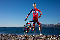 David Per during official photo session of Continental Team - Adria Mobil Cycling before new season 2020, on January 30, 2020 in Makarska, Croatia. Photo by Vid Ponikvar / Sportida