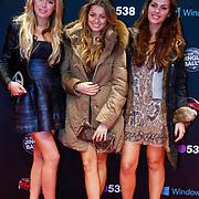 NLD/Amsterdam/20121222 - Inloop 538Jingleballs 2012, actrices uit de realityserie 020Zuid