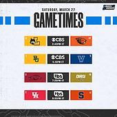 March 27, 2021 (USA): 2021 NCAA Basketball Tournament - Day 1