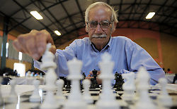 Cape Town - 181213 - Andre van Reene use to be the president of Chess SA. He was invited as honorary guest. The 2018 Chess Summer Slam tournament commenced at the Rylands Civic Centre today. Picture: Armand Hough / African News Agency (ANA)
