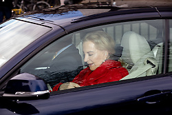 F© Licensed to London News Pictures. 19/12/2018. London, UK. Prince Michael of Kent and Princess Michael of Kent leave Kensington Palace to attend a Christmas lunch at Buckingham Palace. Photo credit : Tom Nicholson/LNP