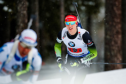 March 16, 2019 - –Stersund, Sweden - 190316 Miha Dovzan of Slovenia competes in the Men's 4x7,5 km Relay during the IBU World Championships Biathlon on March 16, 2019 in Östersund..Photo: Johan Axelsson / BILDBYRÃ…N / Cop 245 (Credit Image: © Johan Axelsson/Bildbyran via ZUMA Press)