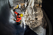 Stevie Haston on the Dirtcicle WI4, Spanish Fork Canyon, Utah