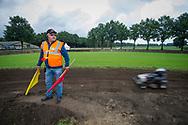Foto: Gerrit de Heus. Mariënvelde. 12-08-2017. Nederlands Kampioenschap (NK) gazonmaaierrace.