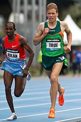 adidas Grand Prix track & field: Diamond League professional meet, mens 5000 meters, Ben True, USA