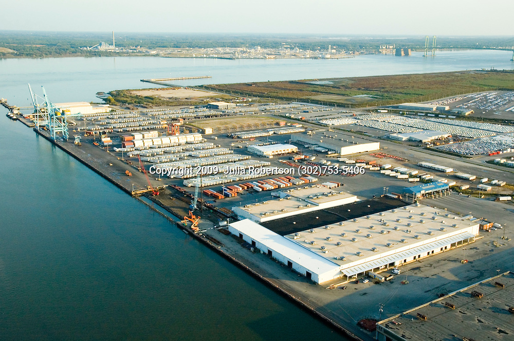 Aerial Photographs of the Port of Wilmington