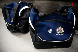Bristol Rugby kit bags - Rogan/JMP - 13/04/2018 - RUGBY UNION - Ashton Gate Stadium - Bristol, England - Bristol Rugby v Doncaster Knights - Greene King IPA Championship.
