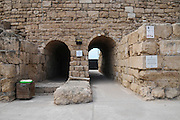 Entrance to the Roman Amphitheatre Caesarea, Israel