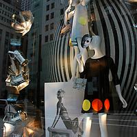 Model as Muse, Bergdorf Goodman