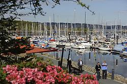 The Clyde Cruising Club's Scottish Series held on Loch Fyne by Tarbert. <br /> <br /> Tarbert Harbour,