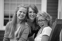 McLaughlin family photo session.  ©2014 Karen Bobotas Photographer