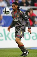 Fotball<br /> Foto: Witters/Digitalsport<br /> NORWAY ONLY<br /> <br /> 15.01.2005<br /> Rigobert SONG<br /> Fussballspieler Galatasaray Istanbul