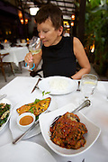 Malaysia, Kuala Lumpur. Bukit Bintang shopping and entertainment district. .Delicious contemporary Malay food at Bijan Bar & Restaurant.