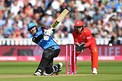 Worcestershire Rapid's Tom Fell bats during the Vitality T20 Blast Semi Final match on Finals Day at Edgbaston, Birmingham.