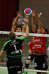 20161029 NED: Eredivisie, Vallei Volleybal Prins - Advisie SSS: Ede<br />Chris Ogink, Peter Ogink of Vallei Volleybal Prins <br />©2016-FotoHoogendoorn.nl / Pim Waslander