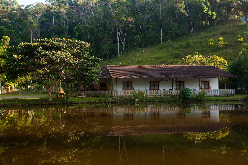 Santa Leopoldina_ES, Brasil...Pousada Gastholf em Santa Leopoldina...Gastholf hotel in Santa Leopoldina...Foto: LEO DRUMOND / NITRO