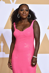 Viola Davis in the press room at the 90th Academy Awards held at the Dolby Theatre in Hollywood, Los Angeles, USA.ÊPhoto credit should read: Matt Crossick/EMPICS Entertainment