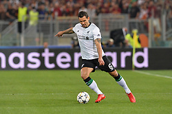 May 2, 2018 - Rome, Italy - Dejan Lovren during the UEFA Champions League semifinal match between AS Roma and FC Liverpool at the Olympic stadium on may 02, 2018 in Rome, Italy. (Credit Image: © Silvia Lore/NurPhoto via ZUMA Press)