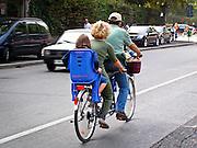 19 sett. 2004: Una famiglia sul tandem a Milanochepedala edizione 2004