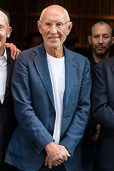 © Licensed to London News Pictures. 15/05/2018. London, UK. MEIR TEPER takes part in the ribbon cutting ceremony to launch Nobo London Hotel London in Shoreditch. Photo credit: Ray Tang/LNP