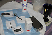 Circumcision - Brit Mila Ceremony the tools and implements used by the Mohel