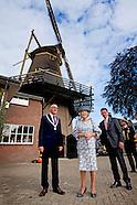 Prinses Beatrix der Nederlanden opent woensdagochtend 21 september de gerestaureerde Molen De Hoop i
