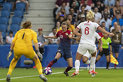 June 27, 2019 - Le Havre, França - LE HAVRE, SM - 27.06.2019: NORWAY VS ENGLAND - Caroline Hansen of Norway during a match between England and Norway. World Cup Qualification Football. FIFA. Held at the Oceane Stadium in Le Havre, France  (Credit Image: © Richard Callis/Fotoarena via ZUMA Press)