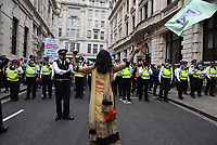 Extinction Rebellion march from St Paul's Cathedral to the Bank of England.photos by Krisztian Elek