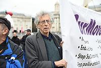 Piers Corbyn taking part in the March for Freedom, London, UK - 17 Oct 2020 photo by Krisztian Elek