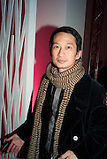 Anh Hung Tran, Part of the asian film festival. The afterparty following the UK film premiere of 'Norwegian Wood' at the Haunch Of Venison. London. 3 March 2011 -DO NOT ARCHIVE-© Copyright Photograph by Dafydd Jones. 248 Clapham Rd. London SW9 0PZ. Tel 0207 820 0771. www.dafjones.com.