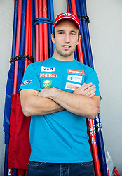 Martin Cater at departure of Slovenian Men Ski Team to training camp in Argentina and Chile on August 21, 2014 in SZS, Ljubljana, Slovenia. Photo by Vid Ponikvar / Sportida.com