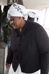 © Licensed to London News Pictures . 08/02/2013 . Manchester , UK . GRACE ADELEYE , at Manchester Crown Court today (8th February 2013) , who was found guilty of Manslaughter by Gross Negligence in December 2012 after performing a botched circumcision on a four-week old baby . Photo credit : Joel Goodman/LNP
