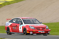 2008 British Touring Car Championship.  Knockhill, Scotland, United Kingdom.  16th-17th August 2008.  (4) - Matt Neal (GBR) - VX Racing Vauxhall Vectra.  World Copyright: Peter Taylor/PSP. Copy of publication required for printed pictures. Every used picture is fee-liable.